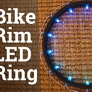 LED Ring From Recycled Bike Rim