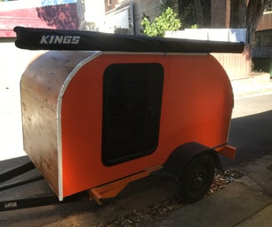 Four Person Teardrop Camper With Cocoon