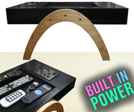 Make a Mini Side Table With Built in Power!