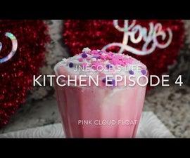 Pink Cloud Float Valentine's Day Idea