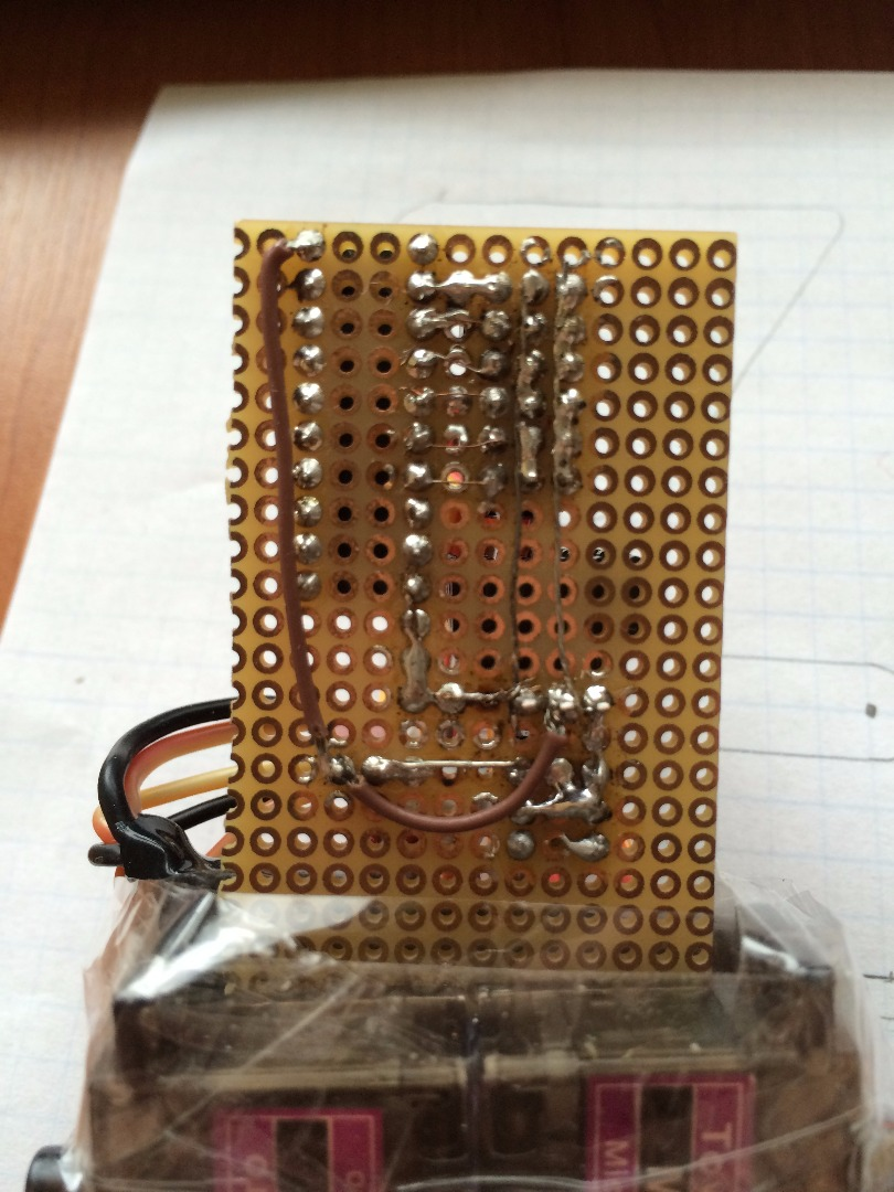 Picture of Soldering PCB