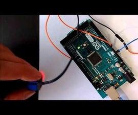 Use LEGO Mindstorm RCX Light Sensor with Arduino (Program with Visuino)