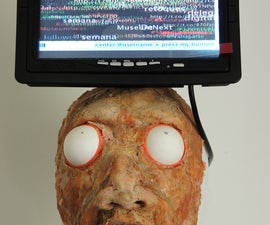 Psychic Fortune Teller - An automaton that reads the mind of Twitter
