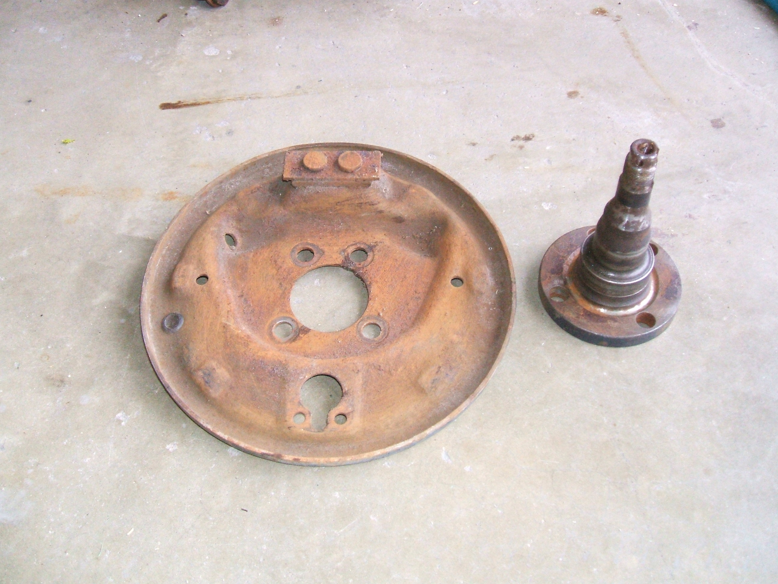 Picture of Eliminate All Brake Parts, Including Backing Plate