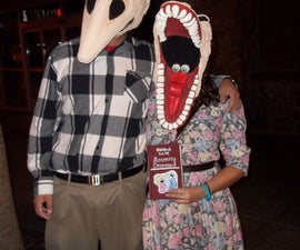Adam and Barbara Maitland Costumes from BeetleJuice!