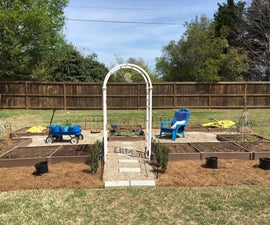Creating a Versatile Formal Arrangement of Functional  Raised  Beds With a Compact Footprint