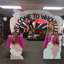 Whoville Entrance Arch Out of Foam