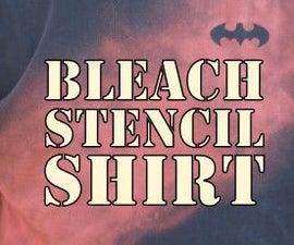 Bleach Stencil Shirt