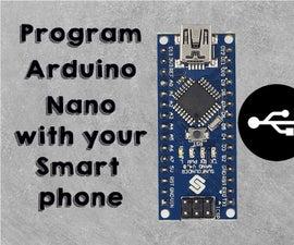Program Arduino Using Smartphone