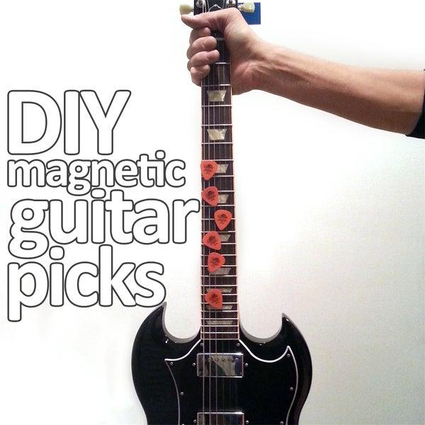 Magnetic Guitar Picks