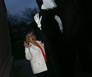 10 Foot Tall Grim Reaper Costume & Puppet