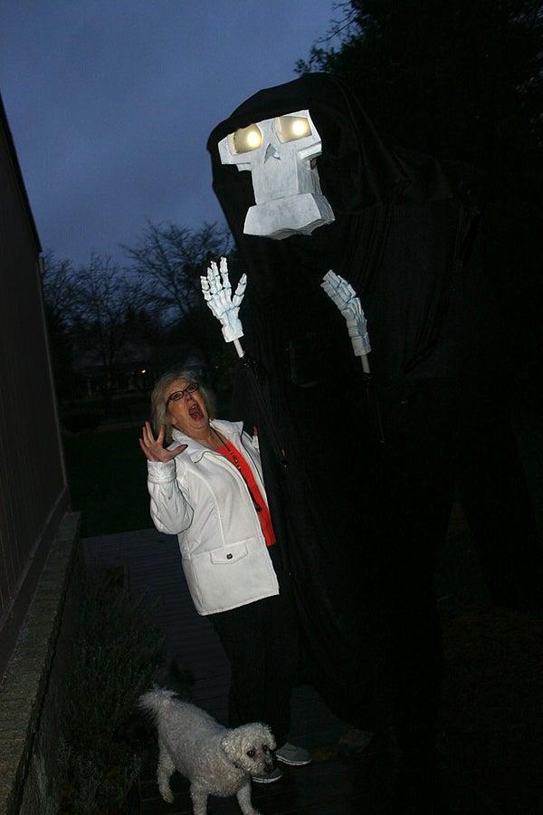 10 Foot Tall Grim Reaper Costume & Puppet