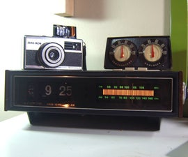 How to Bring a 1970s AM/FM Flip Clock Back to Life