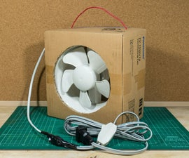 Portable Ventilation Fan From Its Box!!!