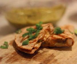 Cheese Quesadillas - easy & cheap