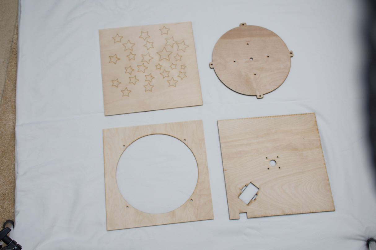 Picture of Laser Etch the Wooden Parts