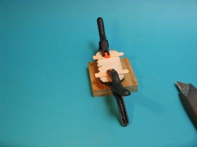 Assembling the Battery Door