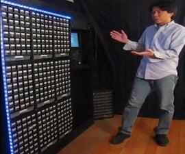 StorageBot - voice controlled robotic parts finder