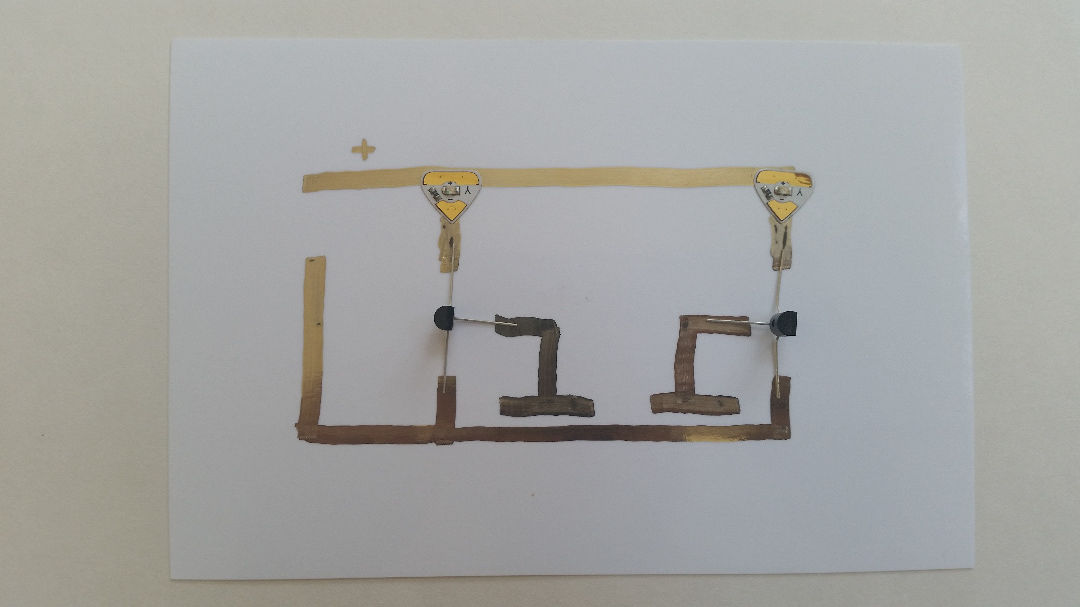 Picture of Circuit Stickers and Conductak