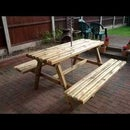 How to Build a Garden Picnic Bench Out of Reclaimed Wood