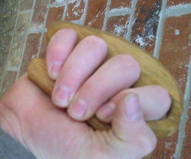 Wooden (brass) knuckles