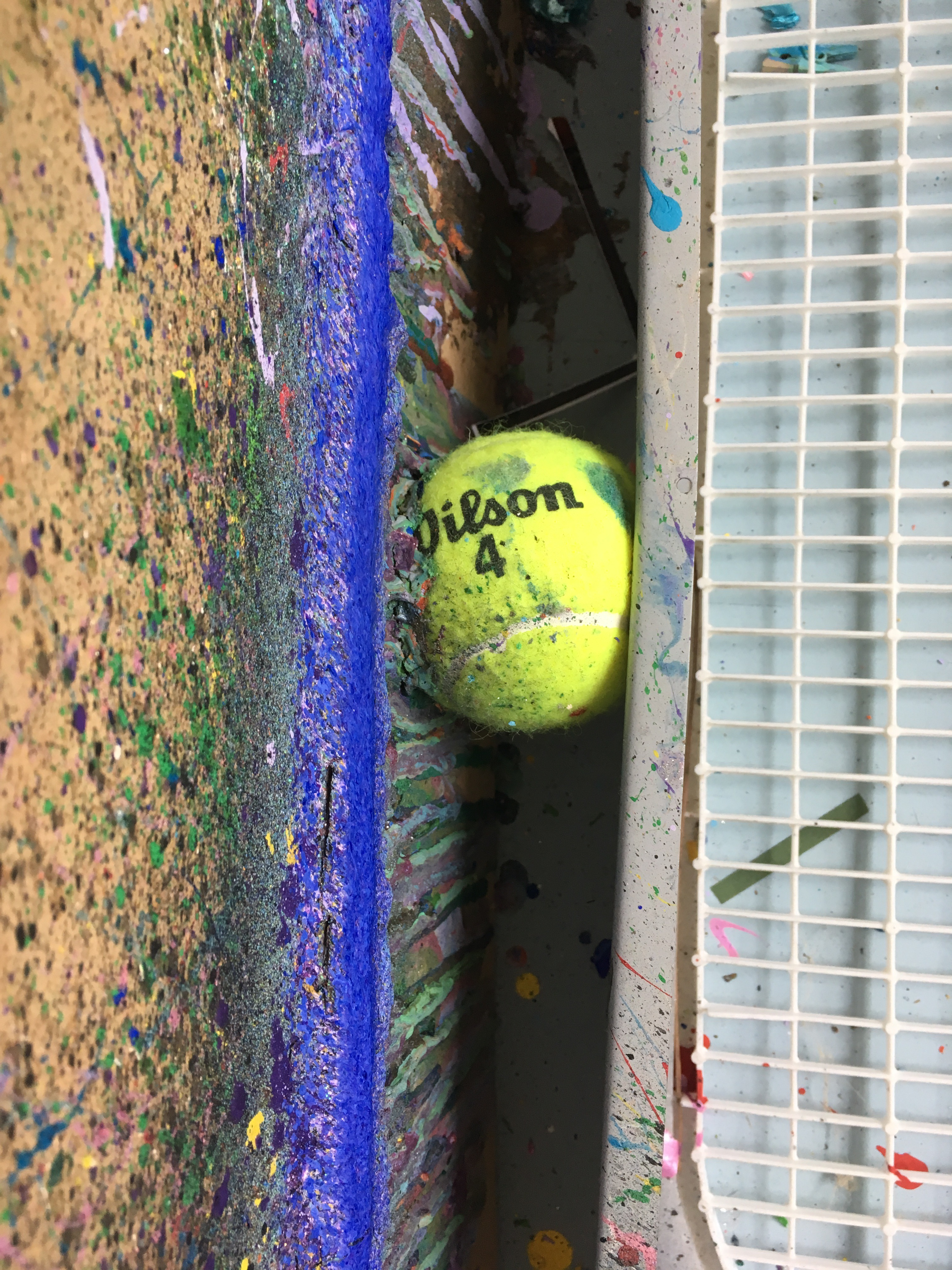 Picture of Optional: Tennis Balls to Make the Fan More Snug