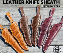 Universal Leather Knife Sheath