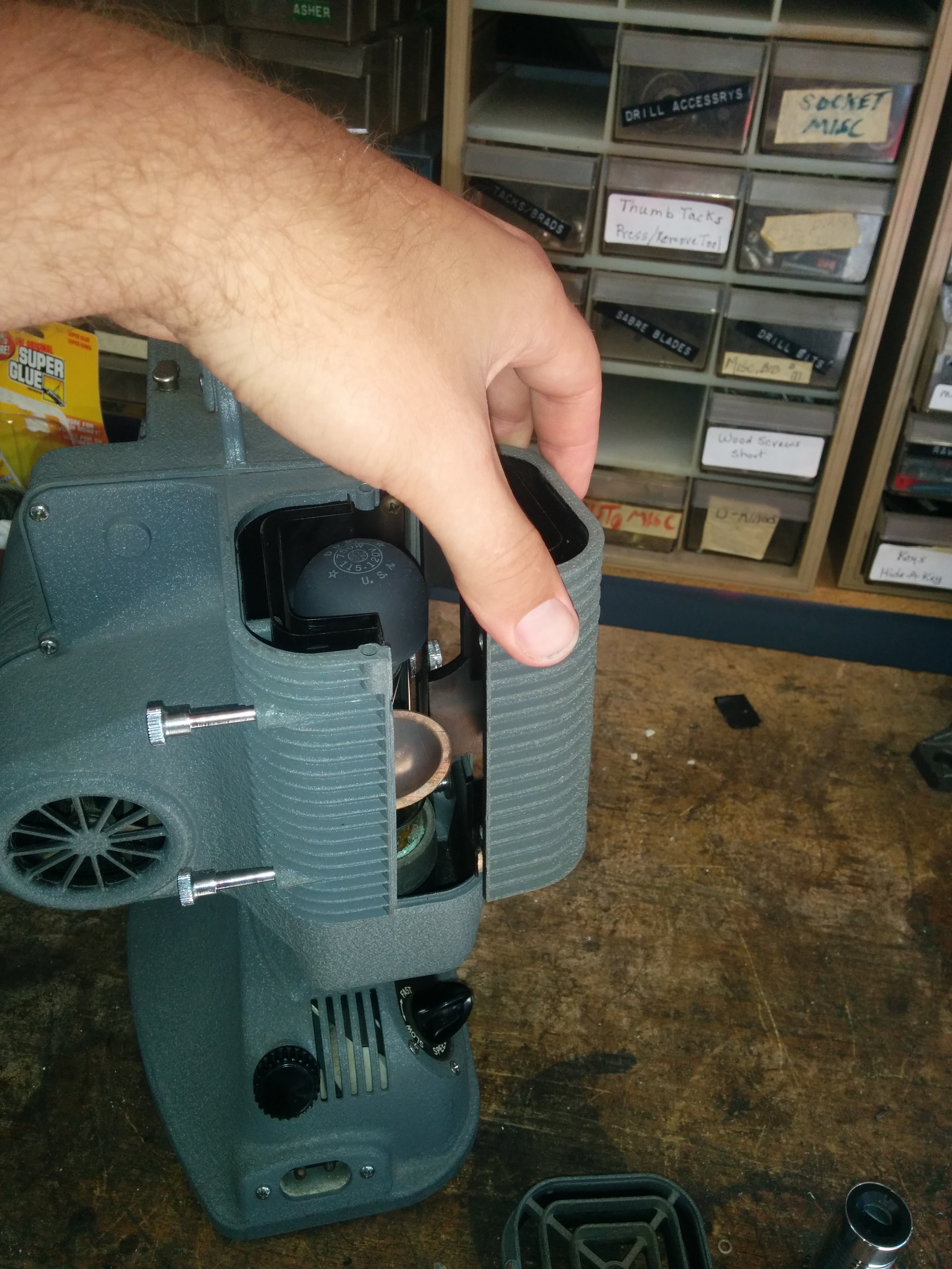 Picture of Removing Original Socket