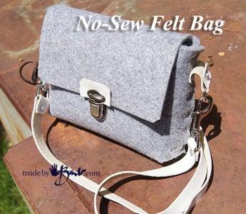 No-Sew Felt Bag