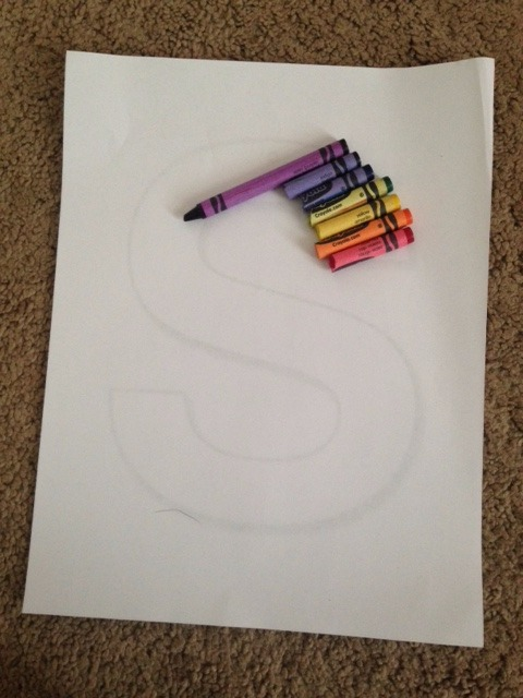 Picture of Cut Your Crayons Down to the Correct Size