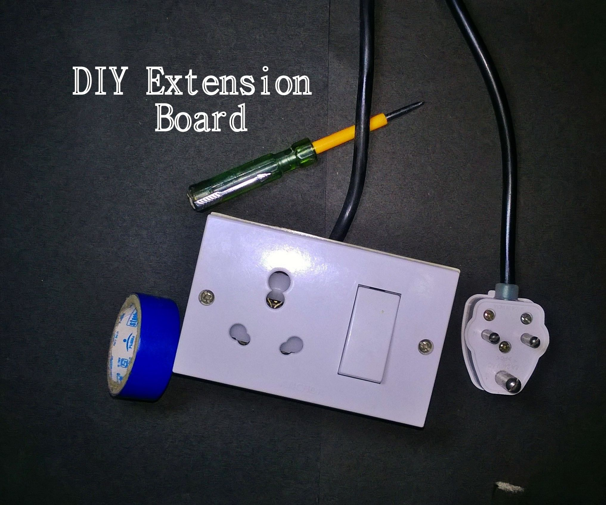 Diy Extension Board 6 Steps With Pictures Instructables