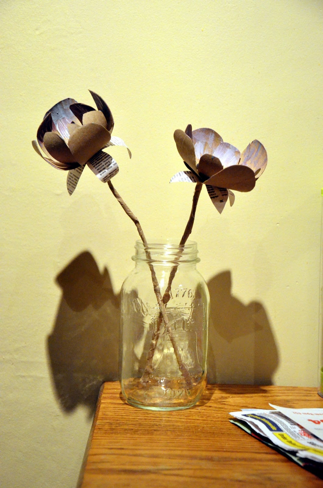 Toilet Paper Roll Flowers: 7 Steps (with Pictures)