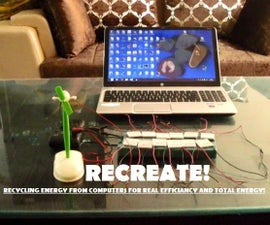 RECREATE! : Recycling Energy of Computers for Real Efficiency And Total Energy!