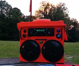 Solar Radio Boombox Stereo