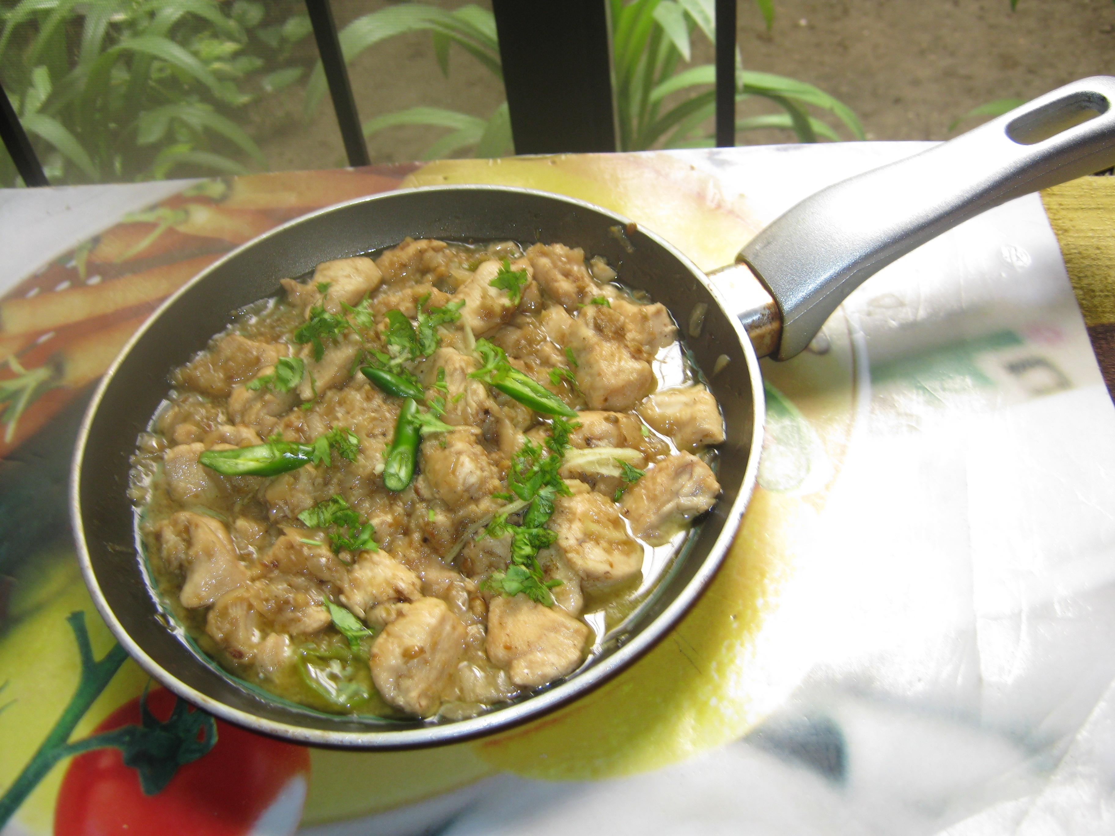 Picture of Pakistani White Chicken Boneless Handi