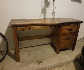 Pinewood Desk