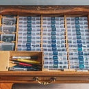 The Sleeper Electronic Components Organizer Desk