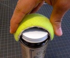 Tennis Ball Jar Opener