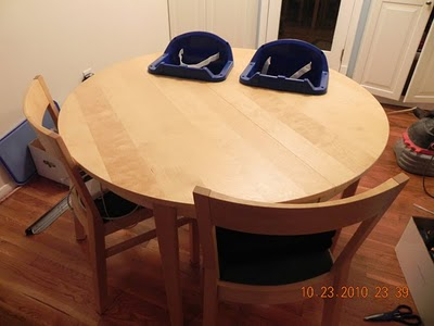 Picture of High Chair Table for Twins