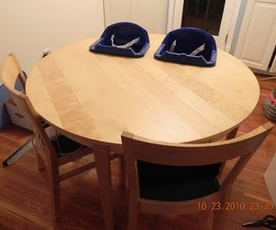 High Chair Table for Twins