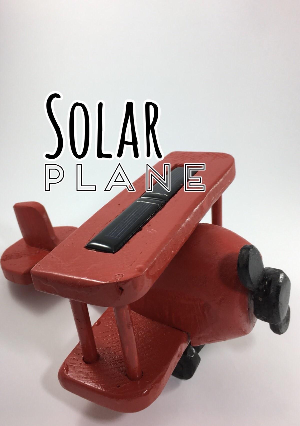 Picture of DIY Solar Plane