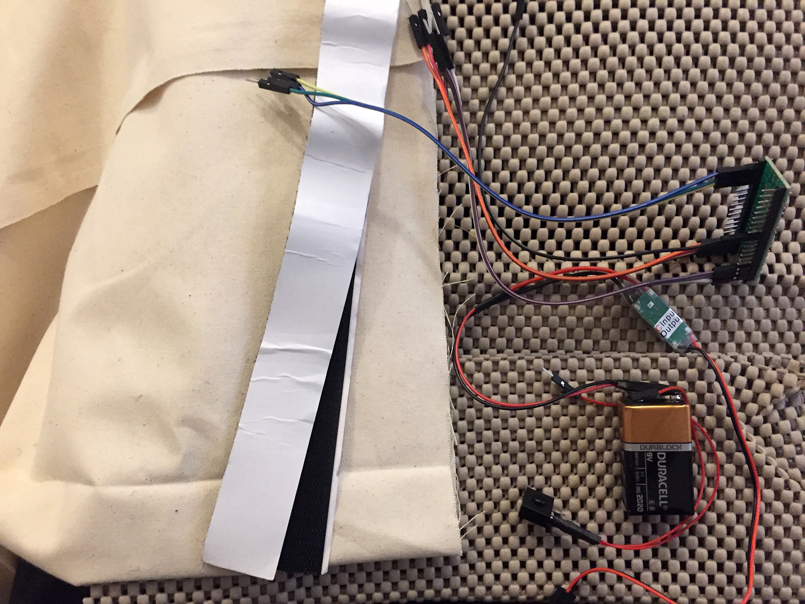 Picture of Sew Pouch & Prepare Electronics