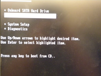 How to Boot From a CD