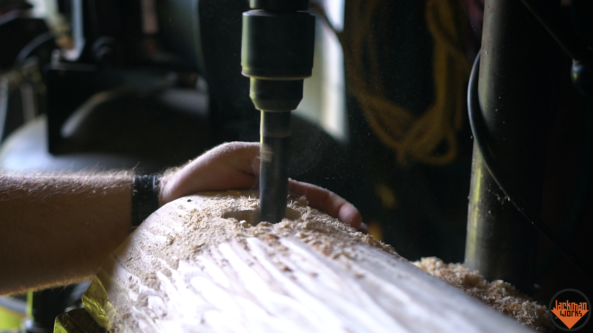 Picture of Cutting the Mortises