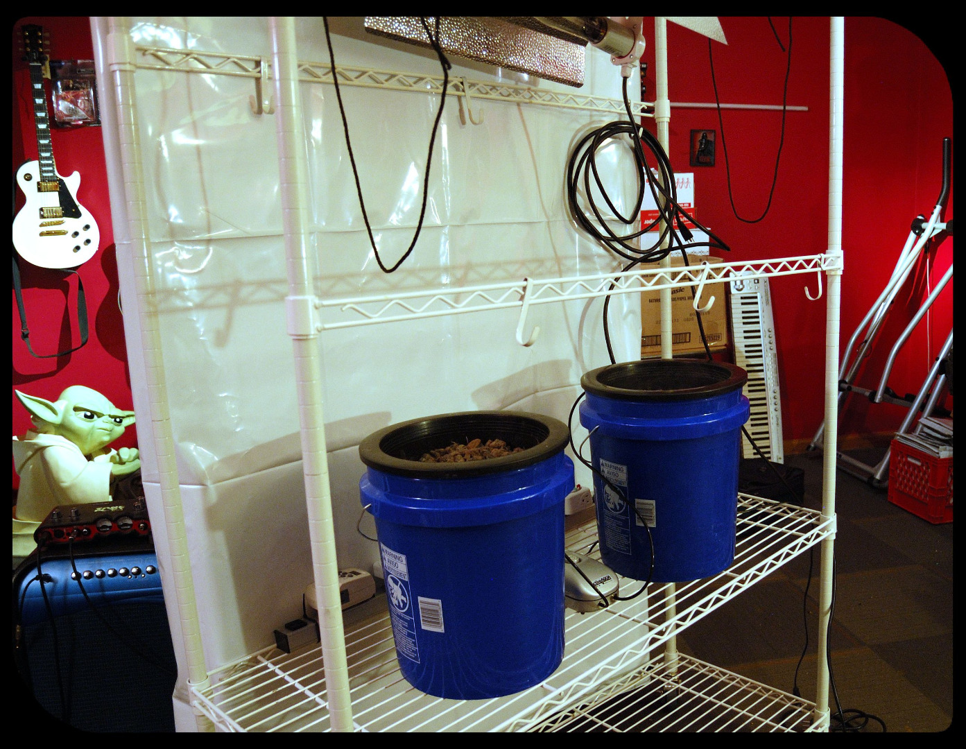 Picture of Sample Configuration 5 - Large Plant Bubbleponics