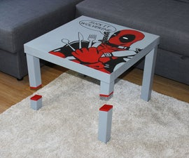 Sliced Deadpool LACK Table 2.0