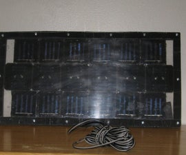 Making a 1 Watt Solar Array.