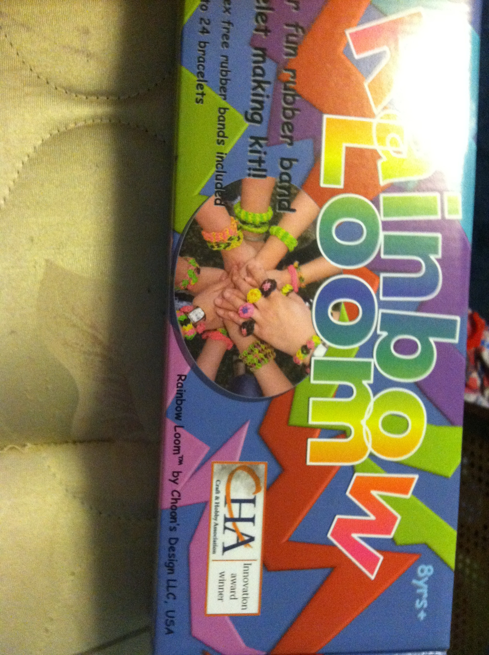 Picture of This Is the Rainbow Loom Kit.