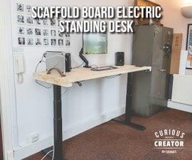 Scaffold Board Electric Standing Desk