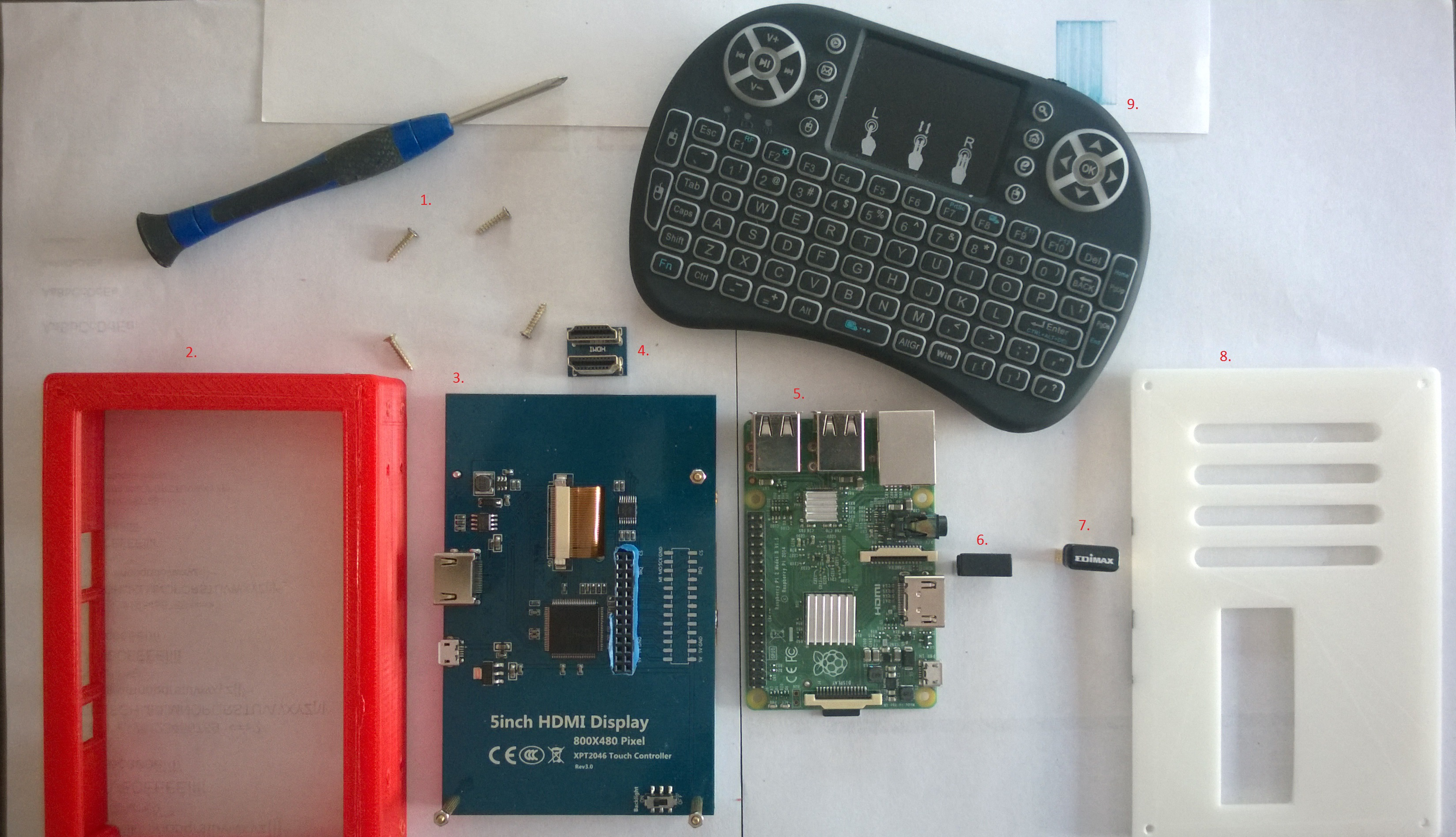 Picture of Assembling the LCD-Pi Case